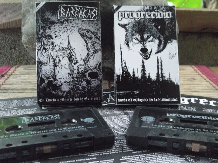 Barräkas / Progrecidio - Split Tape