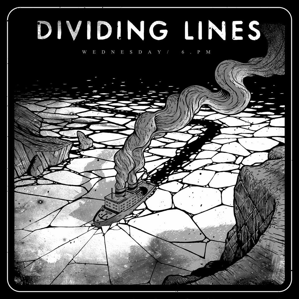 Dividing Lines - Wednesday 6pm LP (white vinyl)