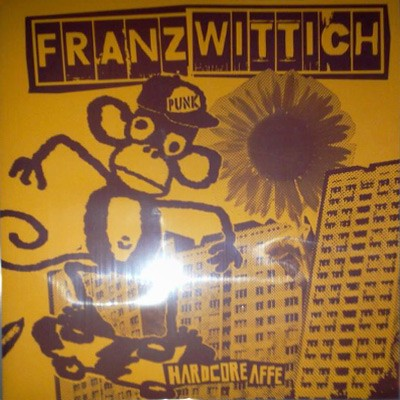 Franz Wittich - Hardcore Affe LP (colored vinyl)