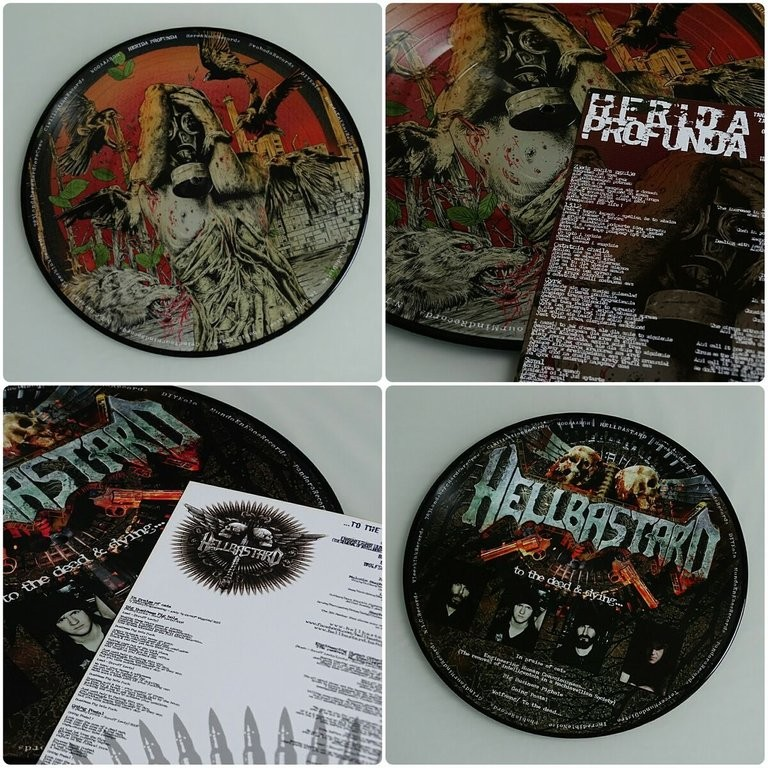 Herida Profunda / Hellbstard - Split LP (Picture)