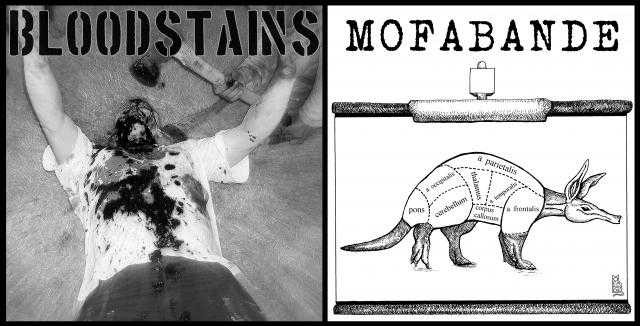 Bloodstains / Mofabande - Split 7''