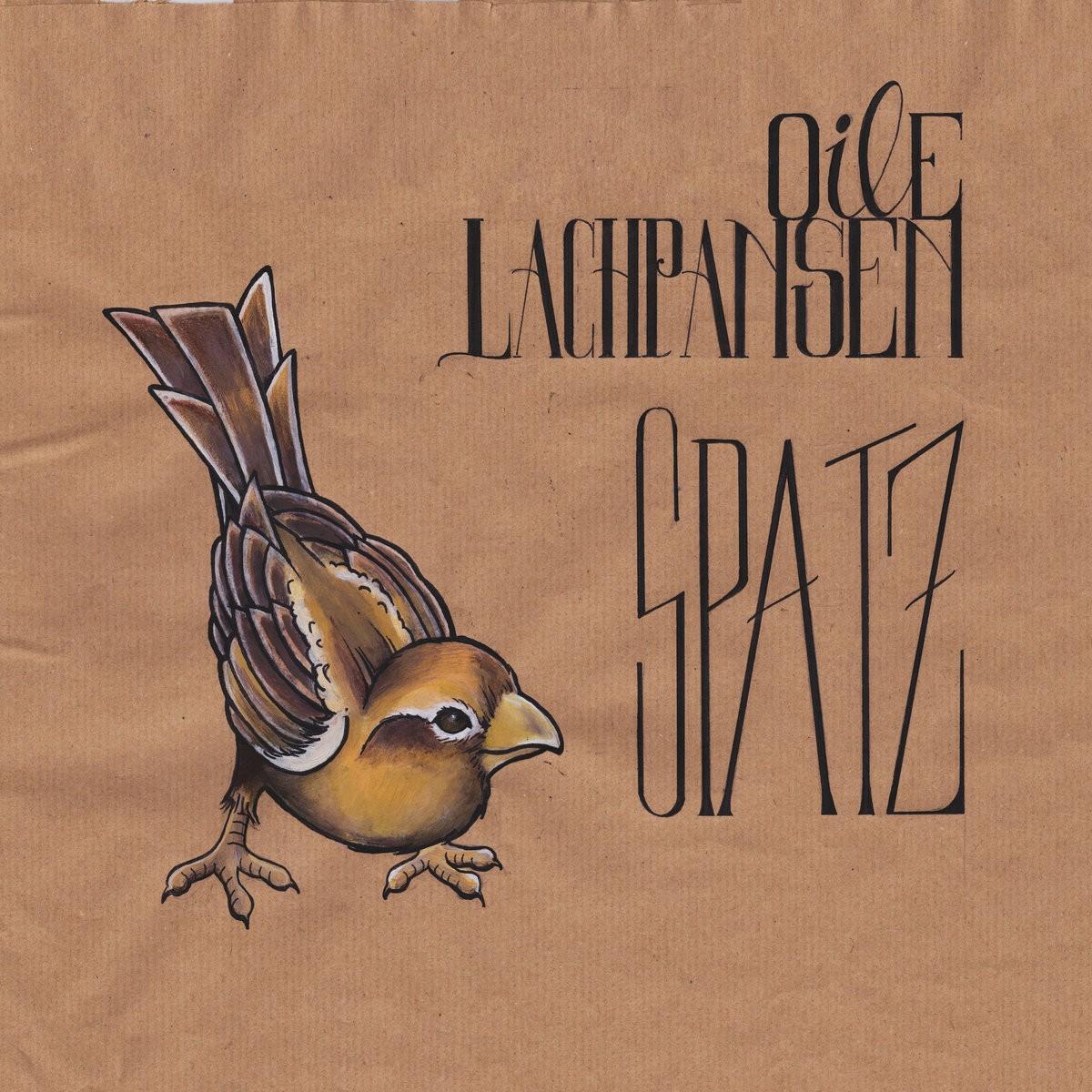 Oile Lachpansen - Spatz LP (white vinyl)