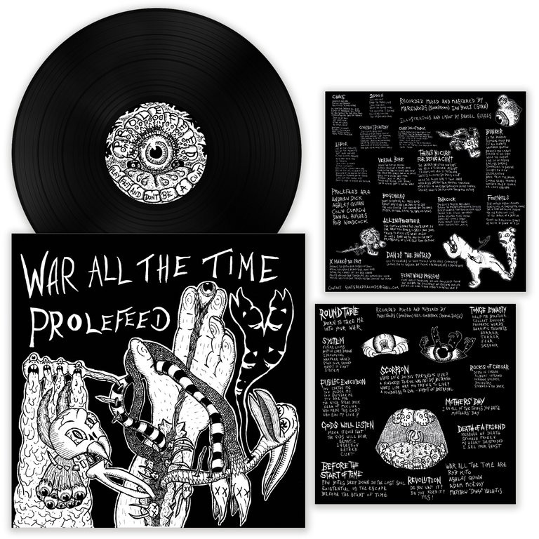 Prolefeed / War All The Time - Split 12''