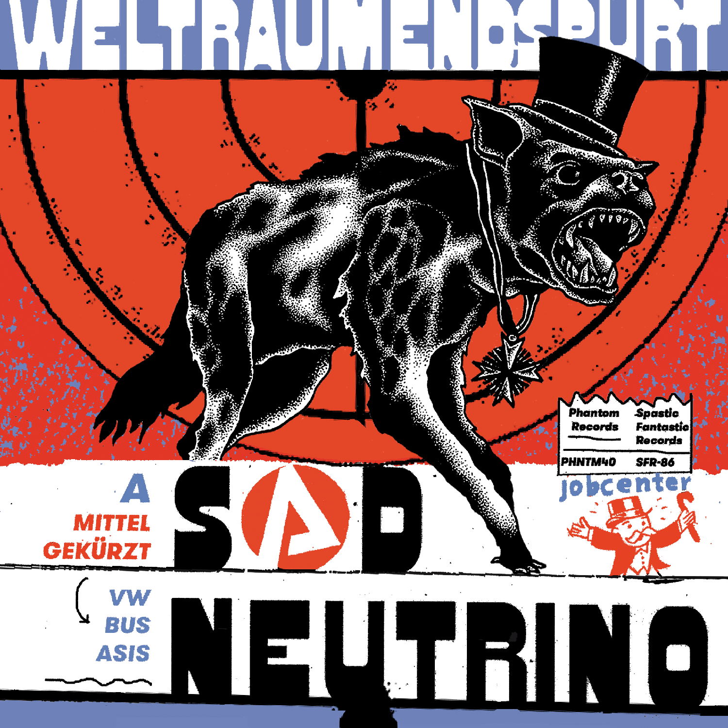 Sad Neutrino Bitches - Weltraumendspurt