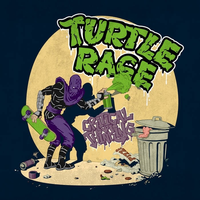 Turtle Rage - Critical Thinking 7'' (colored vinyl)