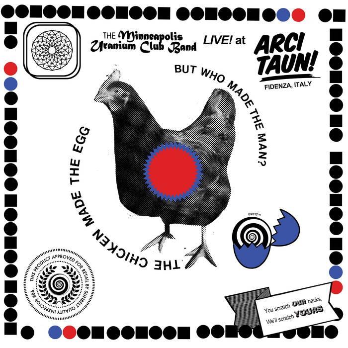 The Minneapolis Uranium Club – LIVE! at Arci Taun! LP