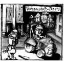 Vorbeugehaft / Deutz - Split LP (red marbled vinyl)