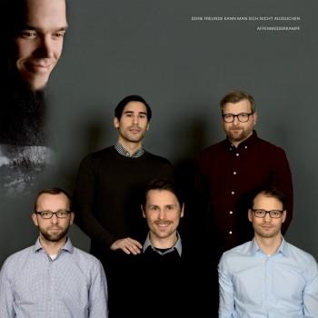 """Affenmesserkampf """"Seine Freunde kann man sich nicht aussuchen + Demo"""" LP"""