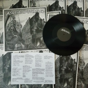 Asocial Distortion - s/t LP
