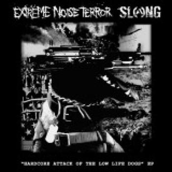 Extreme Noise Terror / Slang - Split 7''