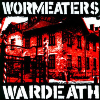 Wormeaters - Wardeath 7'' (white vinyl + screenprinted)