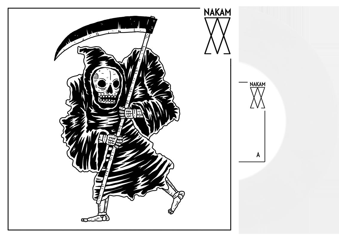 Nakam - st 7'' (white vinyl, limited 100)