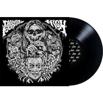 Dismalfucker / HIGH - Split LP